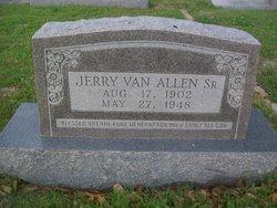 Jerry Van Allen, Sr