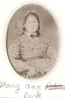 MaryAnn Rebecca <i>Beck</i> Ford
