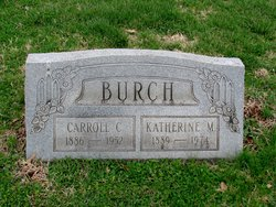Carroll Charles Burch, Sr