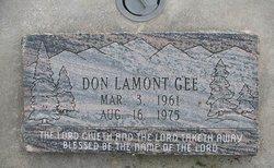 Don Lamont Gee