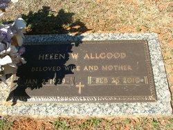 Helen <i>Warner</i> Allgood