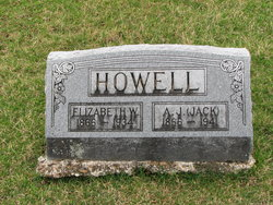 Elizabeth Womack Lillie <i>Powell</i> Howell