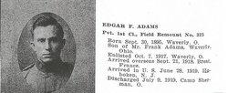 Edgar Franklin Adams