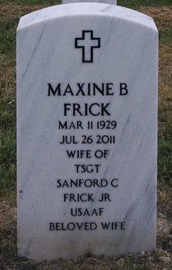Maxine <i>Beck</i> Frick