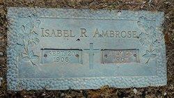 Isabel R <i>Roudabush</i> Ambrose