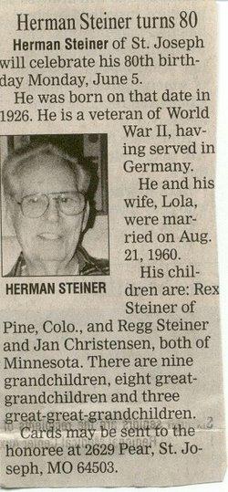 Herman Leo Steiner