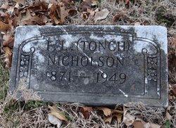 F L Tonch Nicholson
