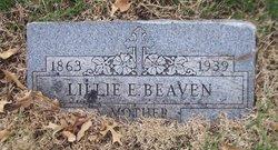 Lillie Elizabeth <i>Mudd</i> Beaven