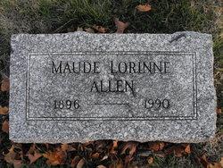 Maude Lorinne Allen