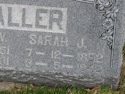 Sarah J <i>Stone</i> Waller
