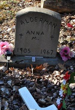 Anna Maude <i>Lanham</i> Alderman