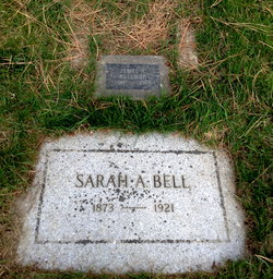 Sarah Angeline <i>Dragoo</i> Bell