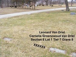 Cornelia <i>Groenewoud</i> Van Driel