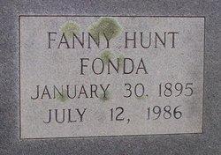 Fanny <i>Hunt</i> Fonda
