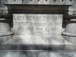 Lucy M. <i>Ingram</i> Dickinson