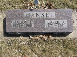 Carrie Abigail <i>Smith</i> Hansel