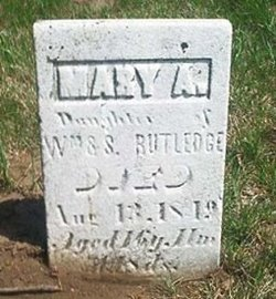Mary Ann Rutledge