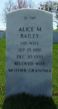 Alice Marie Bailey