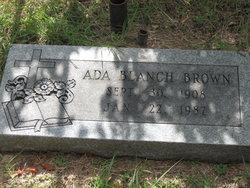Ada Blanch <i>Eldridge</i> Sills-Brown