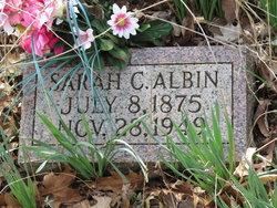 Sarah Catherine <i>King</i> Albin