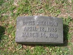 Doris <i>Saye</i> Atkinson