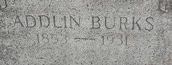 Adaline Addlin <i>Stark</i> Burks