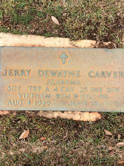 Sgt Jerry Dewayne Carver