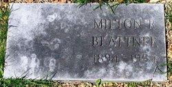 Milton R Blattner