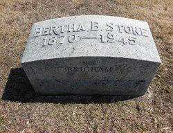 Bertha <i>Brigham</i> Stone