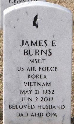 James E Jim Burns