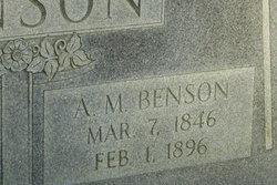Alford Monroe Benson