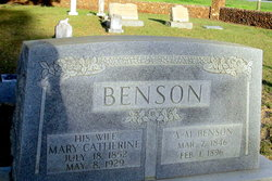 Mary Catherine <i>Denning</i> Benson