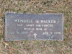 Wendell O Walker