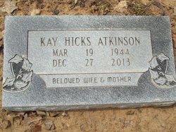 Kathryn S Kay <i>Hicks</i> Atkinson