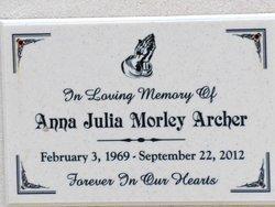 Anna Julia <i>Morley</i> Archer