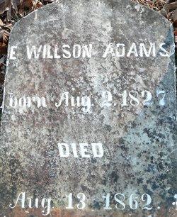 Ebenezer Wilson Adams