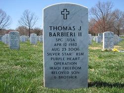 Spec Thomas Joseph T.J. Barbieri, II