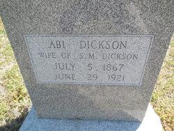 Abi Dickson