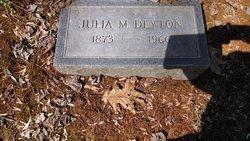 Julia E. <i>McInturff</i> Deyton