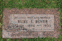 Ruby E. <i>Moore</i> Boyer