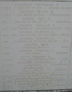 Corp Robert R Sawdye