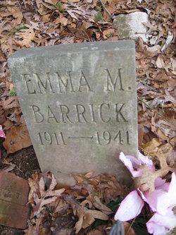 Emma Marie <i>Bailey</i> Barrick