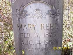 Mary <i>Amburgy</i> Reed