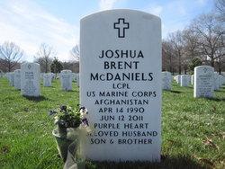 LCpl Joshua Brent McDaniels