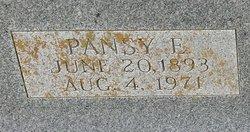 Pansy Elizabeth <i>Snavely</i> Patton