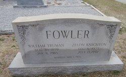 Zelon <i>Knighton</i> Fowler