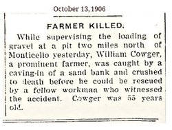 William H Cowger
