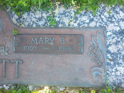 Mary B Tommie <i>Milligan</i> Scott