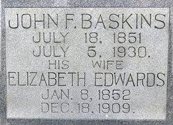 Elizabeth <i>Edwards</i> Baskins