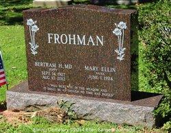 Dr Bertram H. Frohman